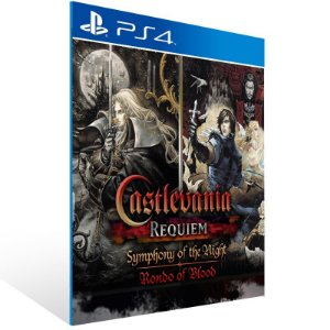 Castlevania Requiem Symphony of the Night & Rondo of Blood - Ps4 Psn Mídia Digital