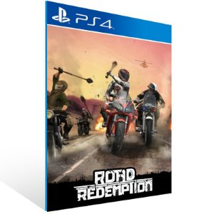 Road Redemption - Ps4 Psn Mídia Digital