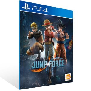 JUMP FORCE - Ps4 Psn Mídia Digital