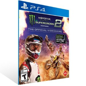 Monster Energy Supercross - The Official Videogame 2 - Ps4 Psn Mídia Digital