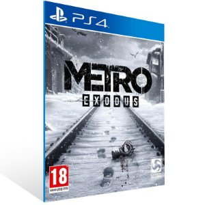 Metro Exodus - Ps4 Psn Mídia Digital