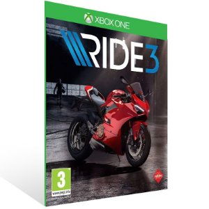 RIDE 3 - Xbox One Live Mídia Digital
