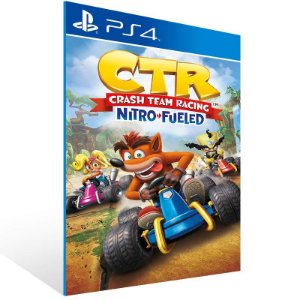 Crash Team Racing Nitro-Fueled - Ps4 Psn Mídia Digital