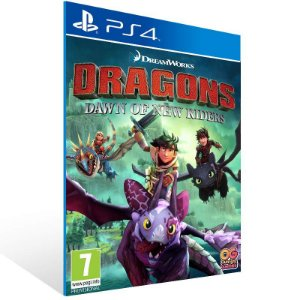 Dragons Dawn of New Riders - Ps4 Psn Mídia Digital