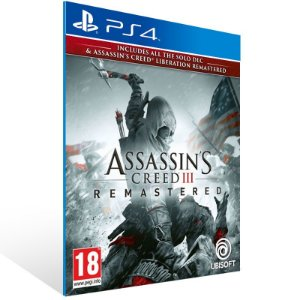Assassins Creed 3 Remastered - Ps4 Psn Mídia Digital
