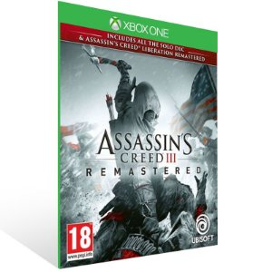Assassins Creed 3 Remastered - Xbox One Live Mídia Digital