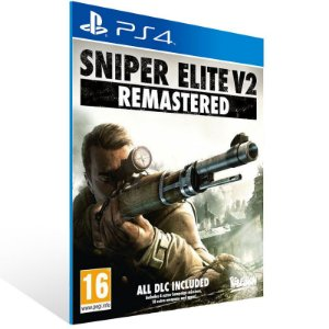 Sniper Elite V2 Remastered - Ps4 Psn Mídia Digital