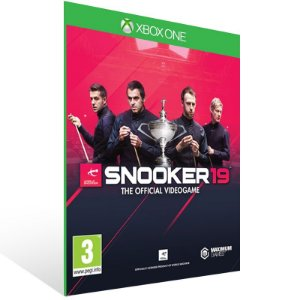 Snooker 19 - Xbox One Live Mídia Digital