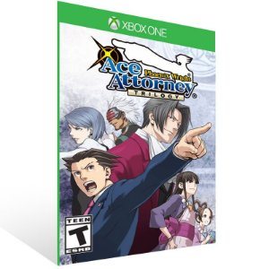 Phoenix Wright: Ace Attorney Trilogy - Xbox One Live Mídia Digital
