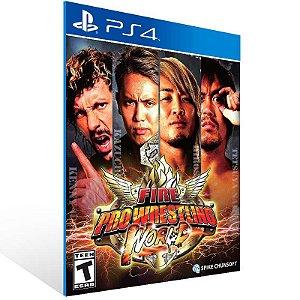 Fire Pro Wrestling World - Ps4 Psn Mídia Digital