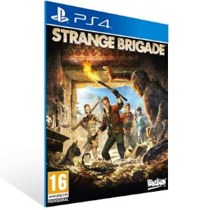 Strange Brigade - Ps4 Psn Mídia Digital