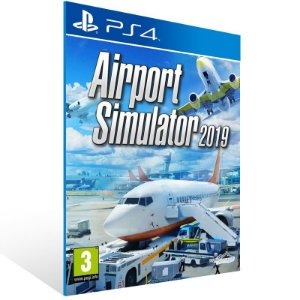Airport Simulator 2019 - Ps4 Psn Mídia Digital