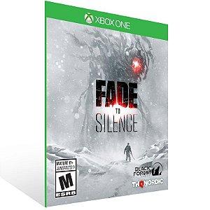 Fade to Silence - Xbox One Live Mídia Digital