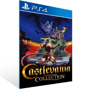 Castlevania Anniversary Collection - Ps4 Psn Mídia Digital