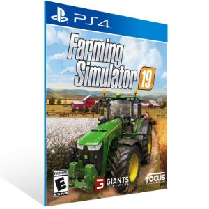 Farming Simulator 19 - Ps4 Psn Mídia Digital