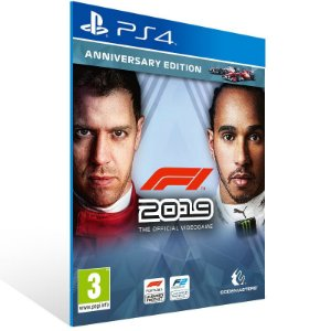 F1 2019 - Ps4 Psn Mídia Digital