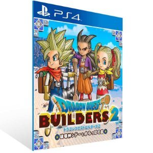 Dragon Quest Builders 2 - Ps4 Psn Mídia Digital
