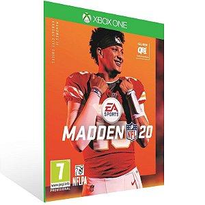 Madden NFL 20 - Xbox One Live Mídia Digital