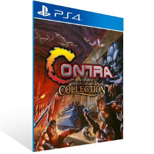Contra Anniversary Collection - Ps4 Psn Mídia Digital