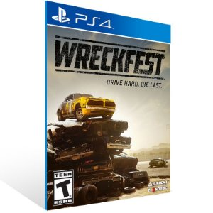 Wreckfest - Ps4 Psn Mídia Digital