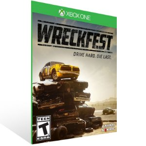 Wreckfest - Xbox One Live Mídia Digital