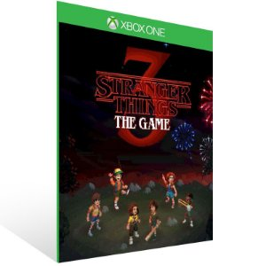 Stranger Things 3: The Game - Xbox One Live Mídia Digital