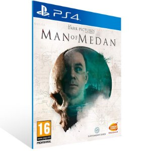 The Dark Pictures Anthology: Man of Medan - Ps4 Psn Mídia Digital