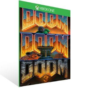 Doom (1993) ,Doom 2 ,Doom 3 Collection - Xbox One Live Mídia Digital