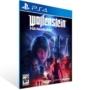 Wolfenstein: Youngblood - Ps4 Psn Mídia Digital