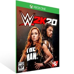 WWE 2K20 - Xbox One Live Mídia Digital