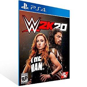WWE 2K20 - Ps4 Psn Mídia Digital