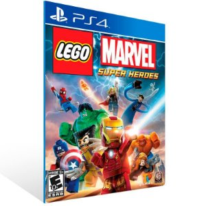 Lego Marvel Super Heroes - Ps4 Psn Mídia Digital