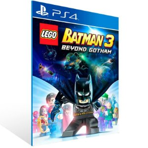 Lego Batman 3 Beyond Gotham - Ps4 Psn Mídia Digital