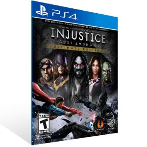 Injustice Gods Among Us Ultimate Edition - Ps4 Psn Mídia Digital