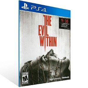 The Evil Within - Ps4 Psn Mídia Digital