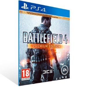 Battlefield 4 Premium Edition - Ps4 Psn Mídia Digital