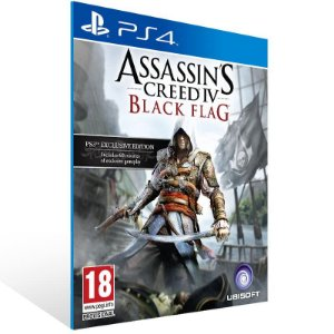 Assassins Creed 4 Black Flag - Ps4 Psn Mídia Digital