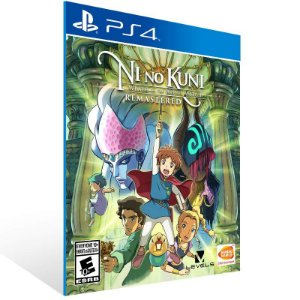 Ni no Kuni: Wrath of the White Witch Remastered - Ps4 Psn Mídia Digital