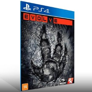 Evolve - Ps4 Psn Mídia Digital