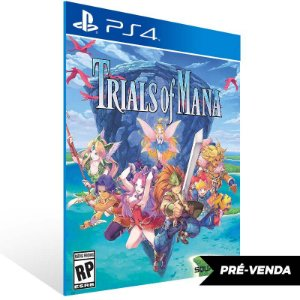 Trials of Mana - Ps4 Psn Mídia Digital Pré-Venda 24/04/2020