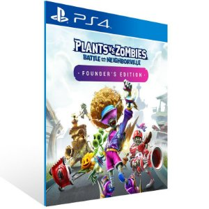 Plants vs. Zombies Battle for Neighborville Founder's Edition - Ps4 Psn Mídia Digital