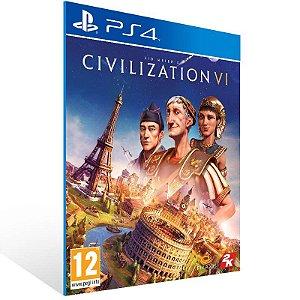 Sid Meier's Civilization VI - Ps4 Psn Mídia Digital