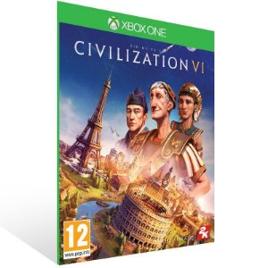 Sid Meier's Civilization VI - Xbox One Live Mídia Digital