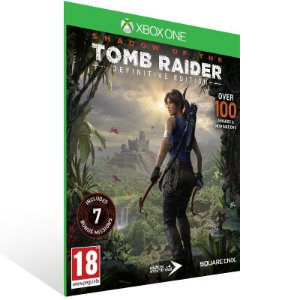 Shadow of the Tomb Raider Definitive Edition - Xbox One Live Mídia Digital