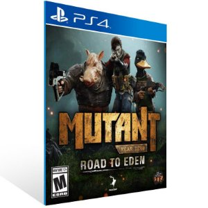 Mutant Year Zero: Road to Eden - Ps4 Psn Mídia Digital