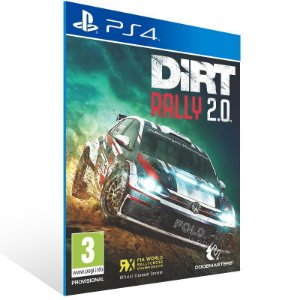 DiRT Rally 2.0 - Ps4 Psn Mídia Digital