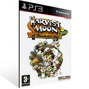 Harvest Moon: A Wonderful Life Special Edition (PS2 Classic) - Ps3 Psn Midia Digital