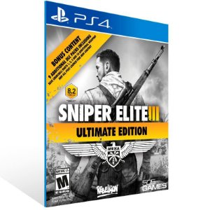 Sniper Elite 3 Ultimate Edition - Ps4 Psn Mídia Digital