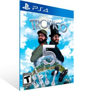 Tropico 5 - Ps4 Psn Mídia Digital