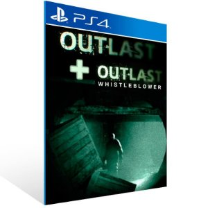 Outlast Bundle Of Terror - Ps4 Psn Mídia Digital
